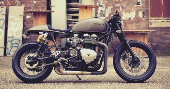 Triumph Thruxton van Mean Machines