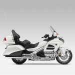 Honda Goldwing 2015 white