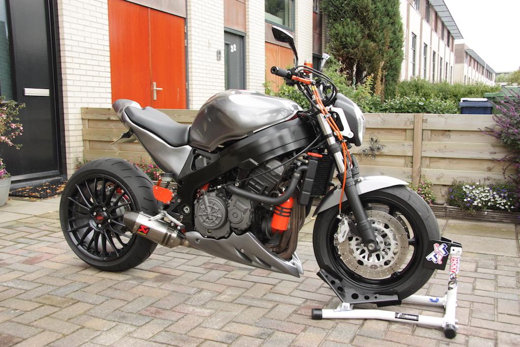 Dutch Design Honda Cbr 900rr Van Locon Customs Motorfans Nl